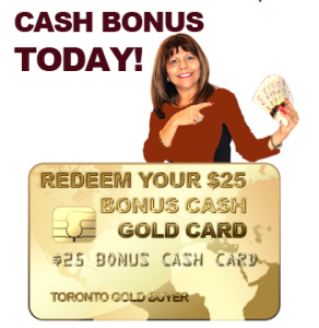 GET YOUR $25 GIVEAWAY GOLD CARD